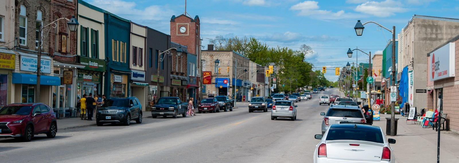 downtown Fenelon Falls
