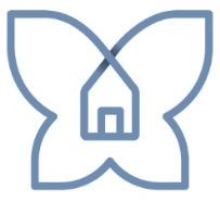 Butterfly icon from KLH Housing Corp. logo