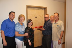 ribbon cutting ceremony at pinegrove place