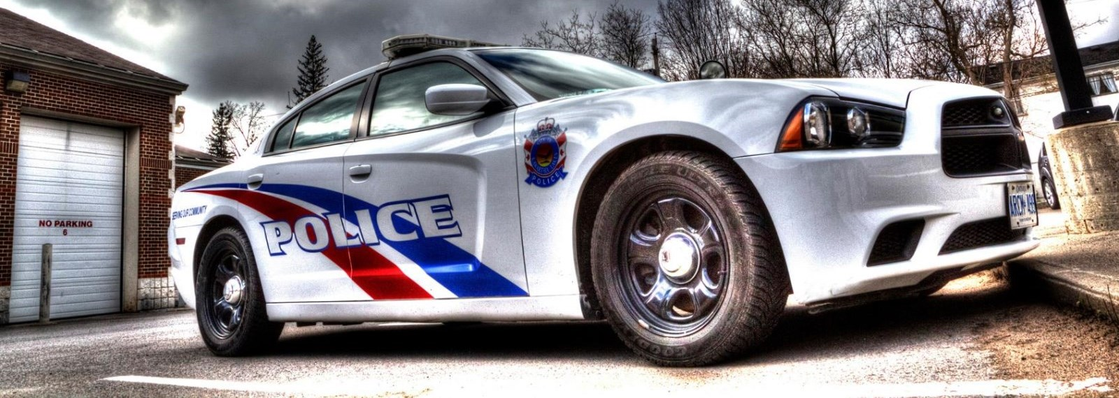 Kawartha Lakes Police Car