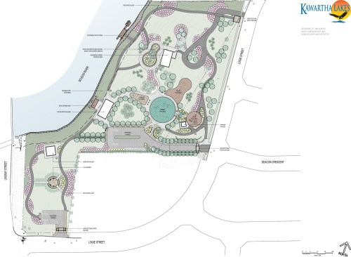 Logie Street Park Conceptual Drawing