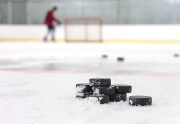 hockey pucks