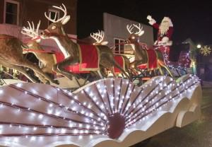 Bobcaygeon Santa Claus float