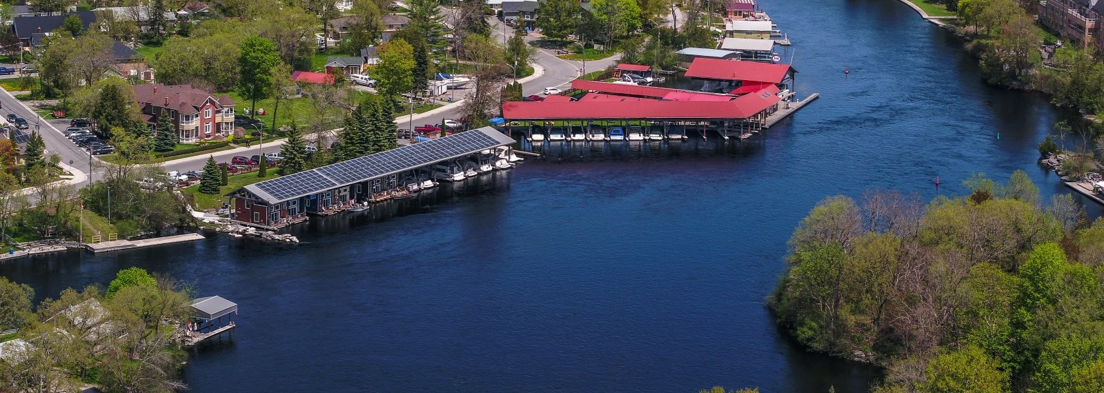 Bobcaygeon aerial view