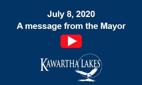 July 8, 2020. A message from the Mayor