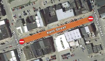 Kent Street Road Closure