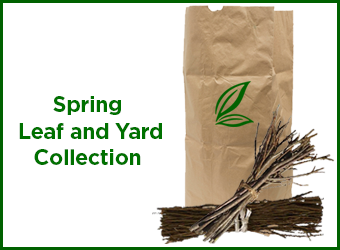 Spring leaf and yard collection