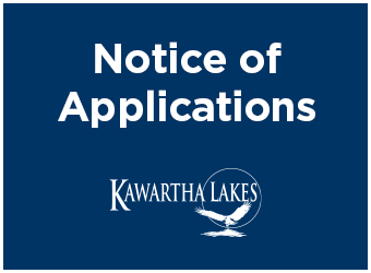 Notice of Applications