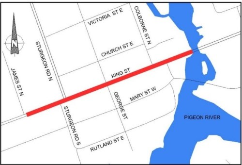 outline of project scope - King Street Omemee