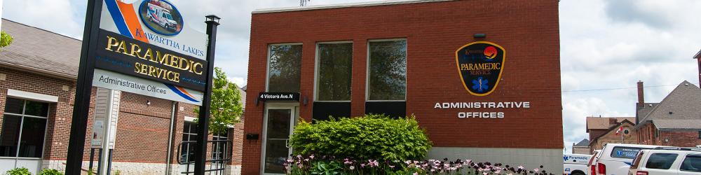 Kawartha Lakes Paramedic Service Adminstrative Office in Lindsay