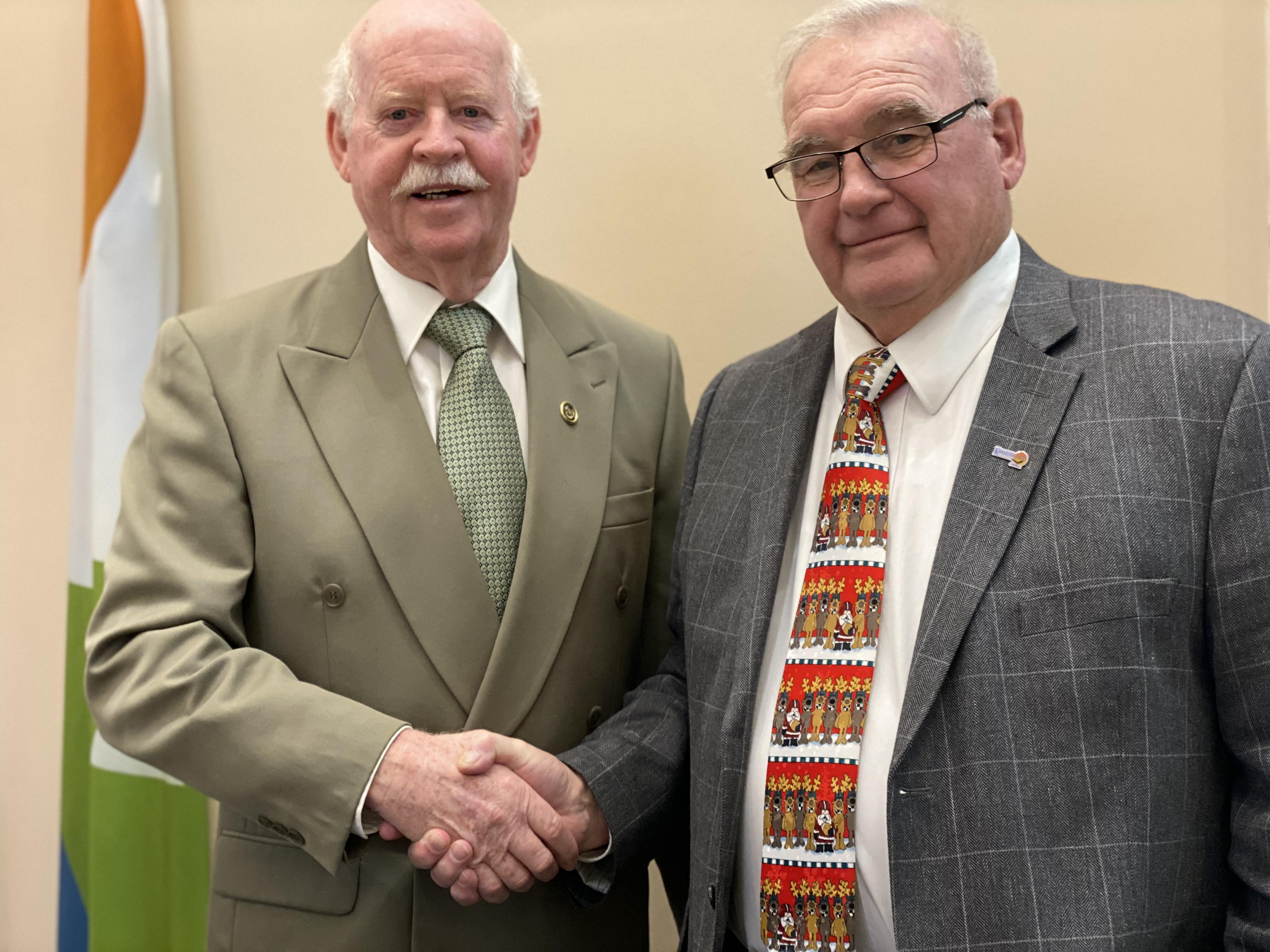 Pat O'Reilly and Doug Elmslie