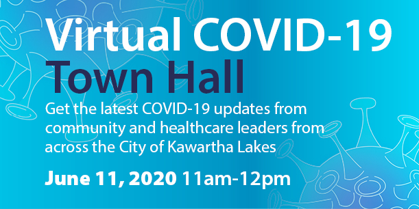 Virtual Town Hall Graphic Image