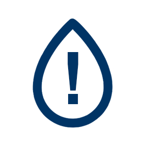Water Restrictions Notice Icon