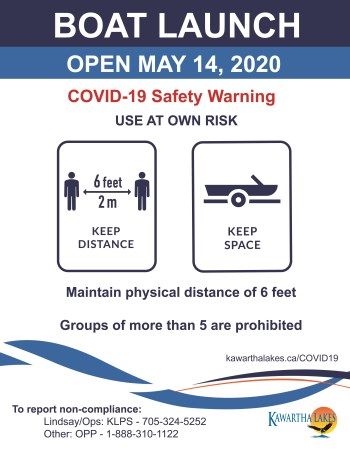 Boat launch open May 14