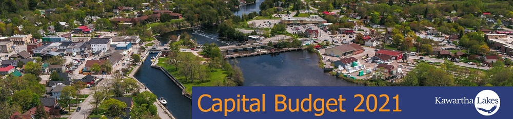 Capital Budget 2021 aerial view of community