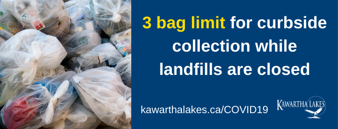 3 bag limit for waste collection