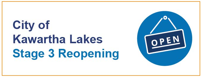 City of Kawartha Lakes Stage 3 Reopening