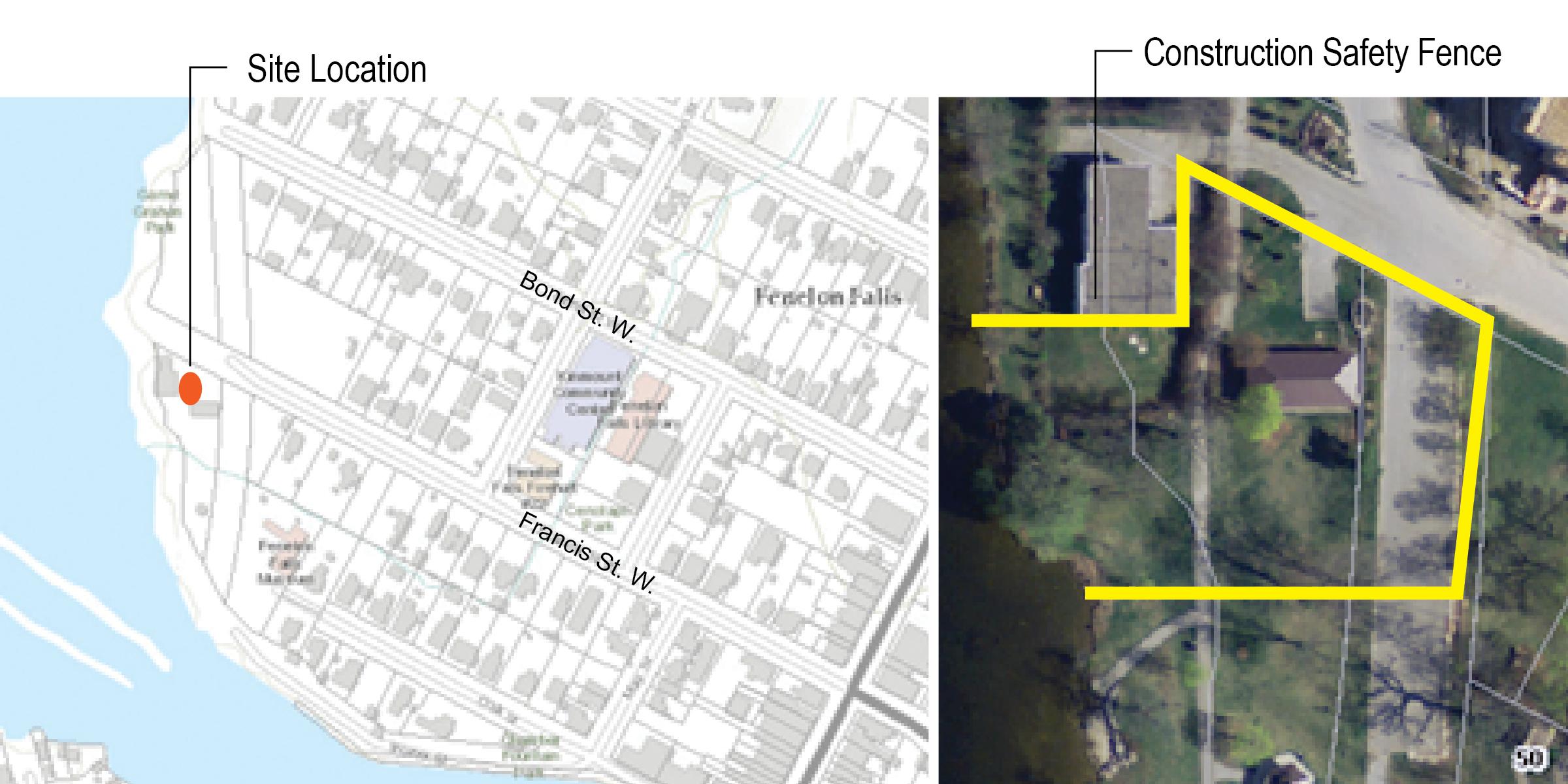 Garnet Graham Park splash pad site location