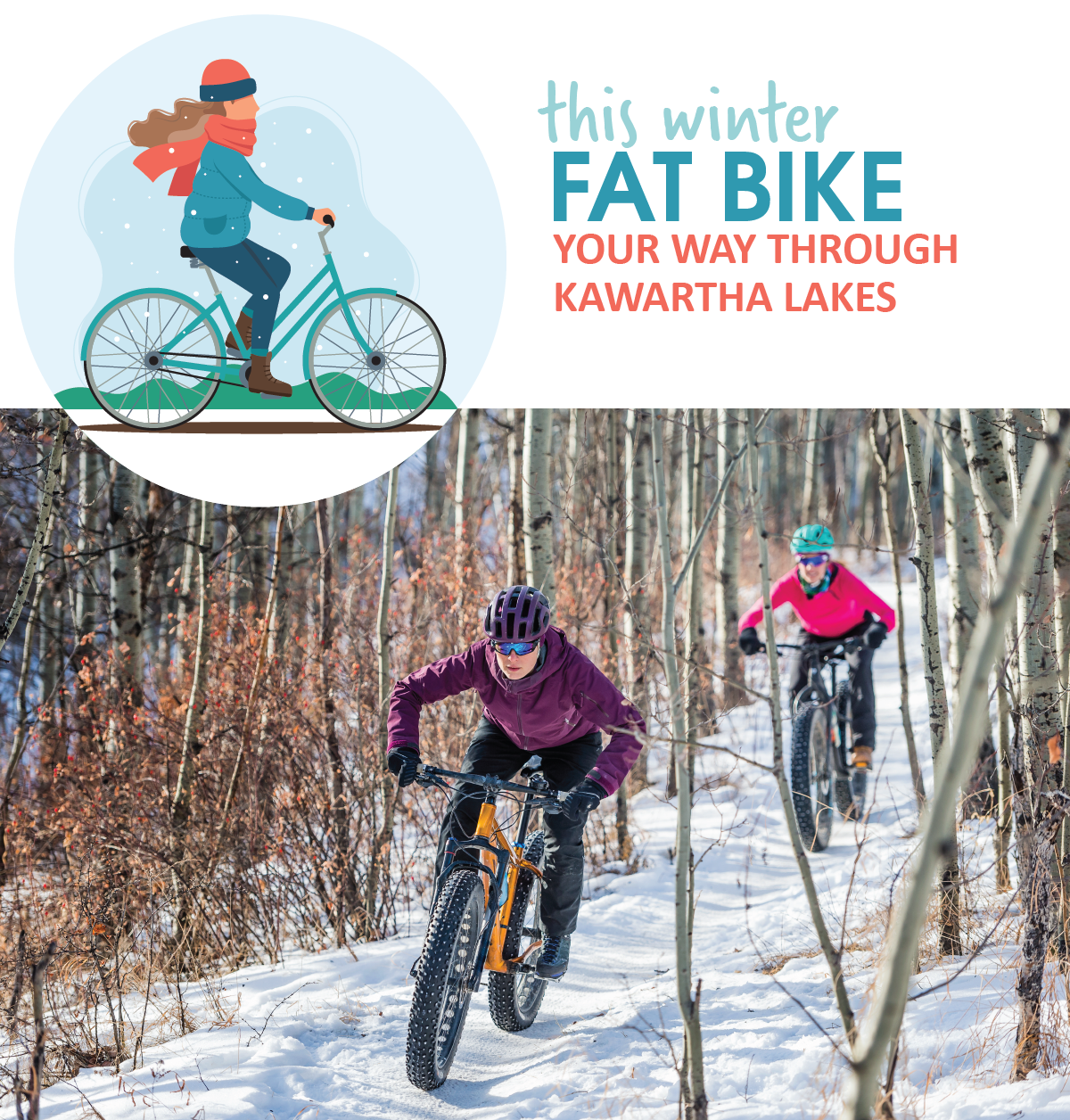 Fat bike your way through Kawartha Lakes