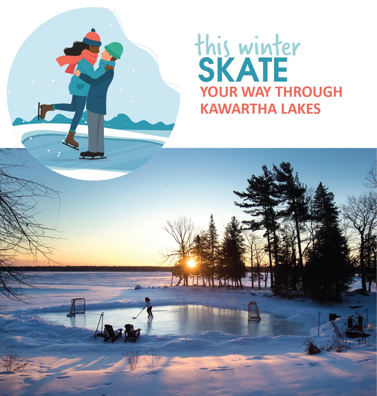 Skate your way through Kawartha Lakes