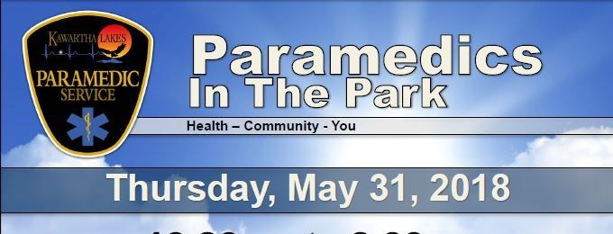 Paramedics In The Park and BBQ