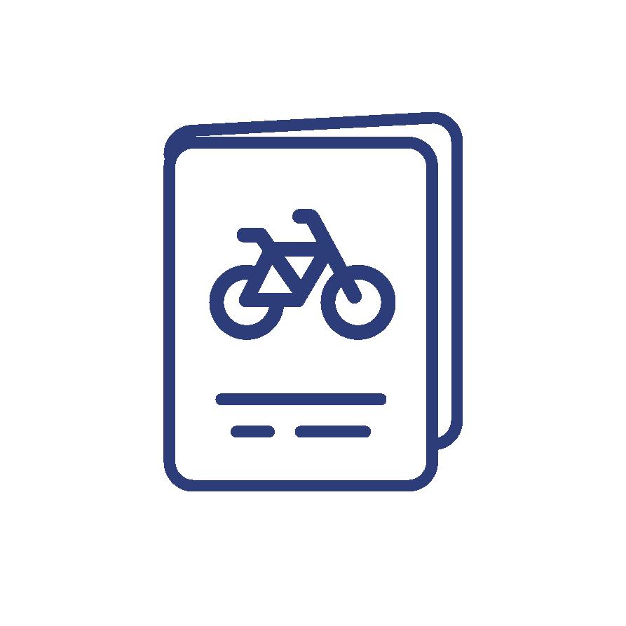 View the Biking Itinerary