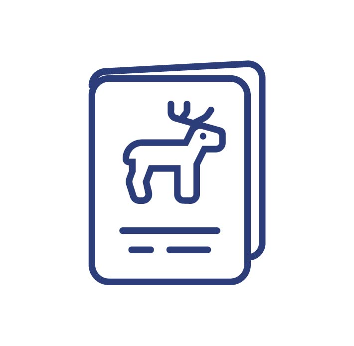 Hunting business listings icon