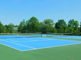 Coboconk Legion Tennis Court