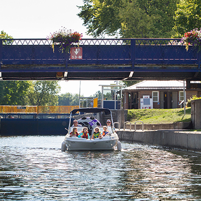 Bobcaygeon lock