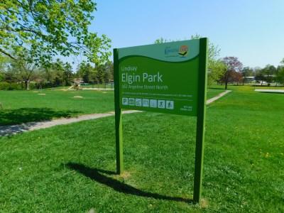 Elgin Park sign