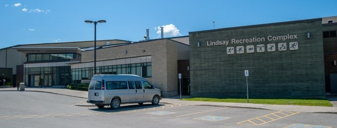 Outside of the Lindsay Recreation Complex