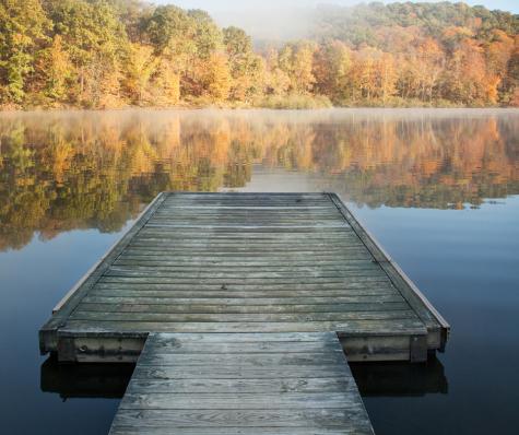 dock in fall