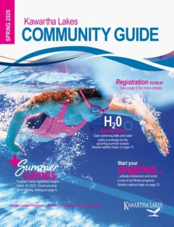 Spring 2020 Kawartha Lakes Community Guide Cover