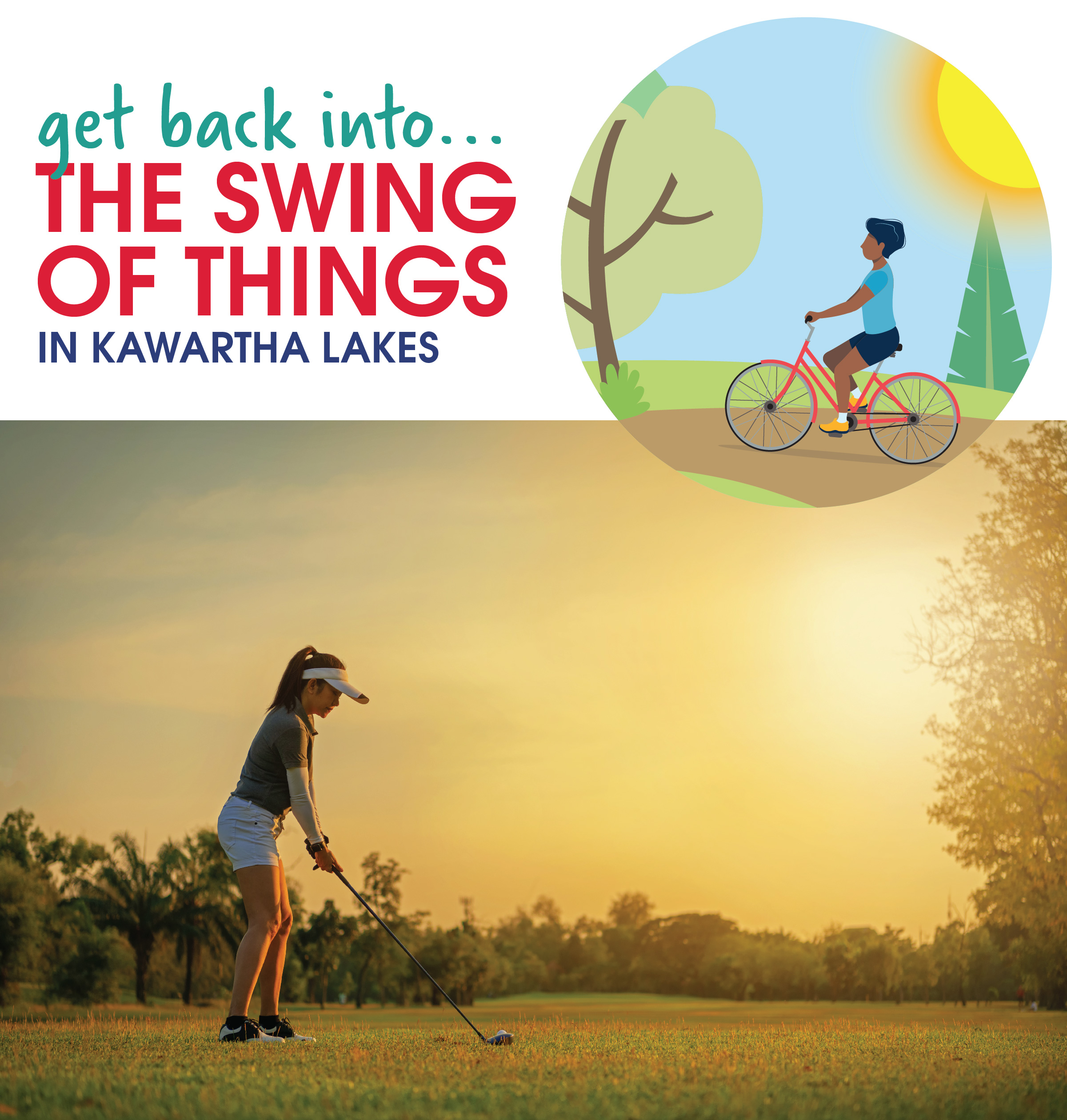 Get back into the swing of things in Kawartha Lakes